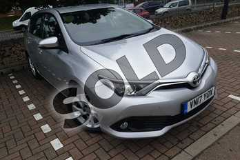Toyota Auris 1.2T Icon TSS 5dr in Tyrol Silver at Listers Toyota Cheltenham