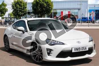 Toyota GT86 2.0 D-4S Pro 2dr in Pearl White at Listers Toyota Cheltenham