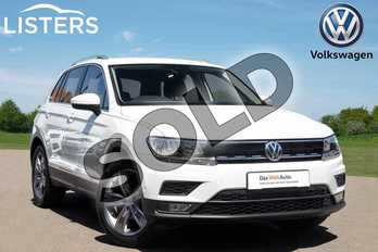 Volkswagen Tiguan 1.5 TSI EVO 130 Match 5dr in Pure white at Listers Volkswagen Coventry