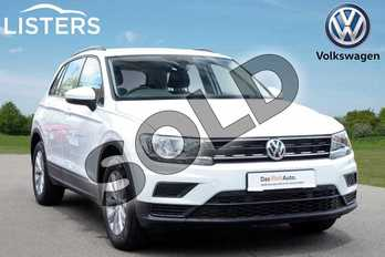 Volkswagen Tiguan 1.5 TSI EVO 150 S 5dr in Pure white at Listers Volkswagen Coventry