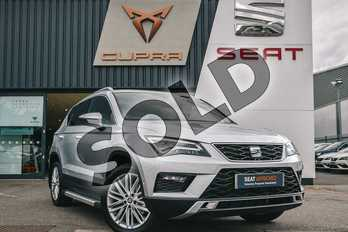 SEAT Ateca 1.5 TSI EVO Xcellence (EZ) 5dr in Reflex silver at Listers SEAT Coventry