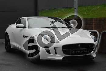 Jaguar F-TYPE 3.0 Supercharged V6 S 2dr in Fuji White at Listers Jaguar Droitwich