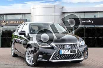 Lexus CT 200h 1.8 Takumi 5dr CVT in Velvet Black at Lexus Coventry