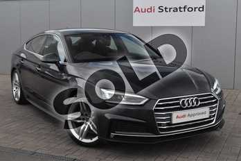 Audi A5 Diesel 35 TDI S Line 5dr S Tronic in Manhattan Grey Metallic at Stratford Audi