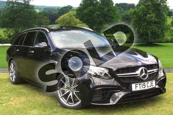 Mercedes-Benz E Class AMG E63 4Matic+ 5dr 9G-Tronic in obsidian black metallic at Mercedes-Benz of Grimsby
