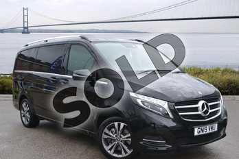 Mercedes-Benz V Class Diesel V220 d Sport 5dr Auto (Long) in obsidian black metallic at Mercedes-Benz of Hull