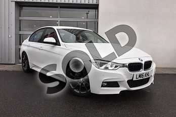 BMW 3 Series 330e M Sport 4dr Step Auto in Alpine White at Listers King's Lynn (BMW)