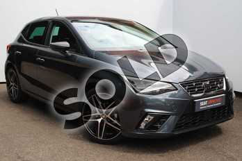 SEAT Ibiza 1.0 TSI 95 FR Sport (EZ) 5dr in Grey at Listers SEAT Worcester