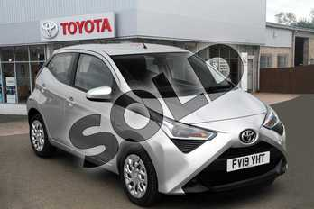 Toyota AYGO 1.0 VVT-i X-Play 5dr in Silver Splash at Listers Toyota Boston