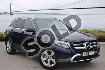 Mercedes-Benz GLC Diesel GLC 250d 4Matic Sport 5dr 9G-Tronic in Cavansite Blue Metallic at Mercedes-Benz of Hull