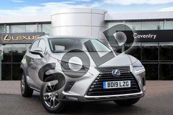 Lexus NX 300h 2.5 5dr CVT (Premium pack leather) in Sonic Titanium at Lexus Coventry