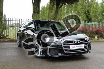 Audi A6 40 TDI S Line 5dr S Tronic in Myth Black Metallic at Coventry Audi