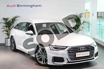 Audi A6 Diesel 40 TDI S Line 5dr S Tronic in Glacier White Metallic at Coventry Audi