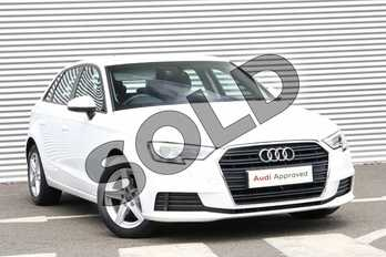 Audi A3 Diesel 30 TDI 116 SE Technik 5dr S Tronic in Ibis White at Coventry Audi