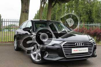 Audi A6 Diesel 40 TDI Sport 4dr S Tronic in Myth Black Metallic at Coventry Audi