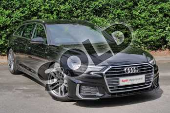 Audi A6 Diesel 40 TDI S Line 5dr S Tronic in Myth Black Metallic at Worcester Audi