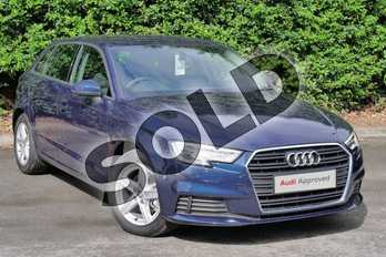 Audi A3 Diesel 30 TDI 116 SE Technik 5dr S Tronic in Cosmos Blue Metallic at Worcester Audi