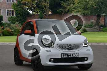 Smart Fortwo Coupe Special Editions 1.0 Edition 1 2dr in white at smart at Mercedes-Benz of Lincoln
