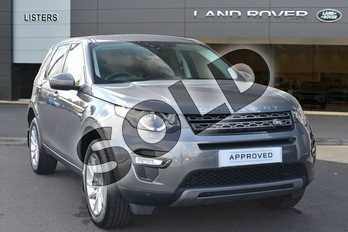 Land Rover Discovery Sport Diesel SW 2.0 TD4 180 SE Tech 5dr Auto in Corris Grey at Listers Land Rover Hereford