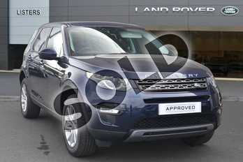 Land Rover Discovery Sport Diesel SW 2.0 TD4 180 SE Tech 5dr Auto in Loire Blue at Listers Land Rover Hereford