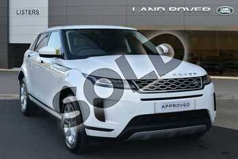 Range Rover Evoque Diesel 2.0 D180 S 5dr Auto in Fuji White at Listers Land Rover Hereford