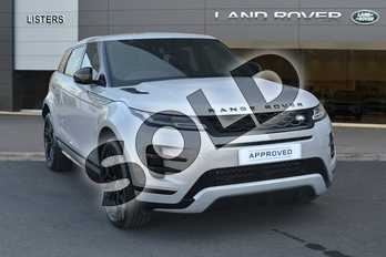Range Rover Evoque 2.0 P300 R-Dynamic SE 5dr Auto in Seoul Pearl Silver at Listers Land Rover Hereford