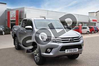 Toyota Hilux Diesel Invincible D/Cab Pick Up 2.4 D-4D Auto in Silver Blade at Listers Toyota Boston