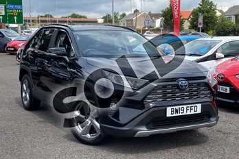 Toyota RAV4 2.5 VVT-i Hybrid Design 5dr CVT in Galaxy Black at Listers Toyota Coventry