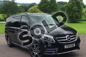 Mercedes-Benz V Class Diesel V250 d AMG Line 5dr Auto (Long) in obsidian black metallic at Mercedes-Benz of Grimsby