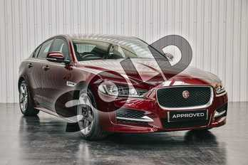 Jaguar XE Diesel 2.0d (180) R-Sport 4dr in Montalcino Red at Listers Jaguar Solihull
