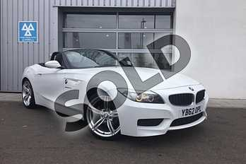 BMW Z4 Roadster 20i sDrive M Sport 2dr in Alpine White at Listers King's Lynn (BMW)