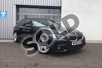 BMW 5 Series Diesel 530d M Sport 4dr Step Auto in Carbon Black at Listers King's Lynn (BMW)