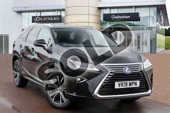 Lexus RX 450h L 3.5 Luxury 5dr CVT (Sunroof) in Graphite Black at Lexus Cheltenham