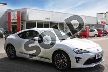 Toyota GT86 2.0 D-4S Pro 2dr in Pearl White at Listers Toyota Boston