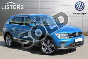 Volkswagen Tiguan 1.5 TSI EVO 130 Match 5dr in Caribbean Blue at Listers Volkswagen Nuneaton