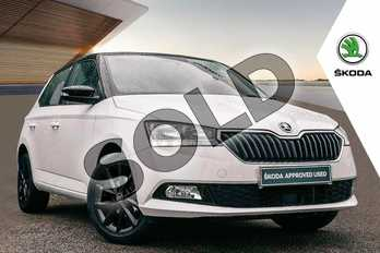 Skoda Fabia Special Editions 1.0 MPI 75 Colour Edition 5dr in Candy White at Listers ŠKODA Coventry