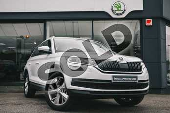 Skoda Kodiaq Diesel 2.0 TDI Edition 4x4 5dr DSG (7 Seat) in Moon White Metallic at Listers ŠKODA Coventry