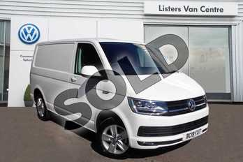 Volkswagen Transporter T30 SWB Diesel 2.0 TDI BMT 150 Highline Van in Candy White at Listers Volkswagen Van Centre Coventry