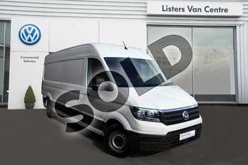 Volkswagen Crafter 2.0 TDI 140PS Trendline High Roof Van in Candy White at Listers Volkswagen Van Centre Coventry