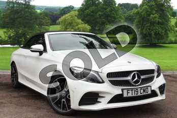 Mercedes-Benz C Class C200 AMG Line Premium 2dr 9G-Tronic in Polar White at Mercedes-Benz of Grimsby