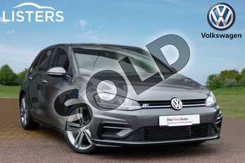 Volkswagen Golf 1.5 TSI EVO 150 R-Line 5dr DSG in Indium Grey at Listers Volkswagen Loughborough