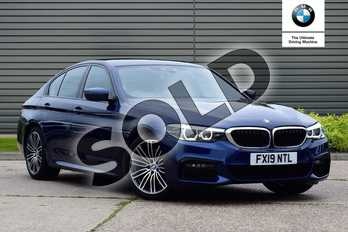 BMW 5 Series Diesel 530d M Sport 4dr Auto in Mediterranean Blue at Listers Boston (BMW)