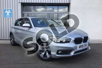 BMW 1 Series 118i SE 5-door in Glacier Silver at Listers King's Lynn (BMW)