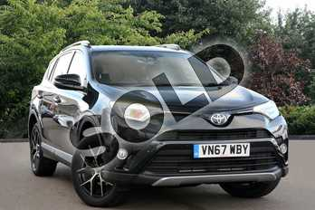 Toyota RAV4 2.0 V-Matic Icon TSS 5dr CVT in Eclipse Black at Listers Toyota Cheltenham