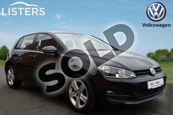 Volkswagen Golf 1.4 TSI 125 Match Edition 5dr in Deep Black at Listers Volkswagen Stratford-upon-Avon