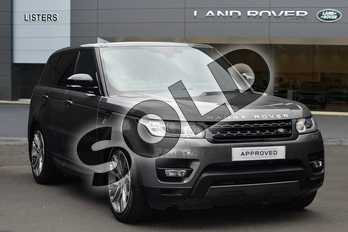 Range Rover Sport Diesel 3.0 SDV6 (306) HSE Dynamic 5dr Auto in Corris Grey at Listers Land Rover Droitwich