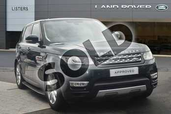 Range Rover Sport Diesel 3.0 SDV6 (306) HSE 5dr Auto in Aintree Green at Listers Land Rover Droitwich