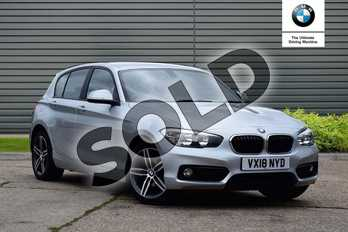 BMW 1 Series 116d Sport 5-door in Glacier Silver at Listers Boston (BMW)