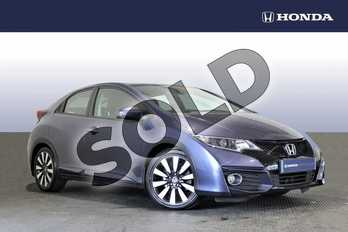 Honda Civic 1.8 i-VTEC SE Plus 5dr  in Blue at Listers Honda Northampton