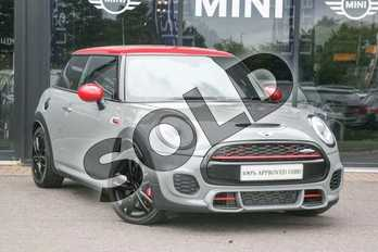 MINI Hatchback 2.0 John Cooper Works 3dr Auto (8 Speed) in Moonwalk Grey at Listers Boston (MINI)